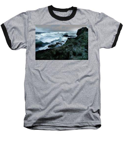 Zamas Beach #5 Baseball T-Shirt