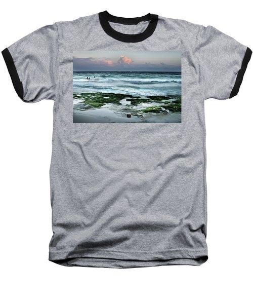 Zamas Beach #7 Baseball T-Shirt
