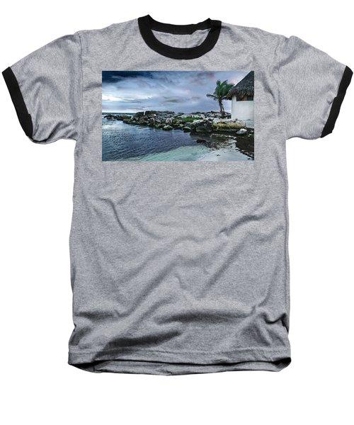 Zamas Beach #8 Baseball T-Shirt
