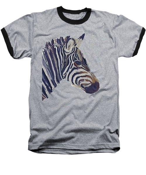 Zebra 2 Baseball T-Shirt