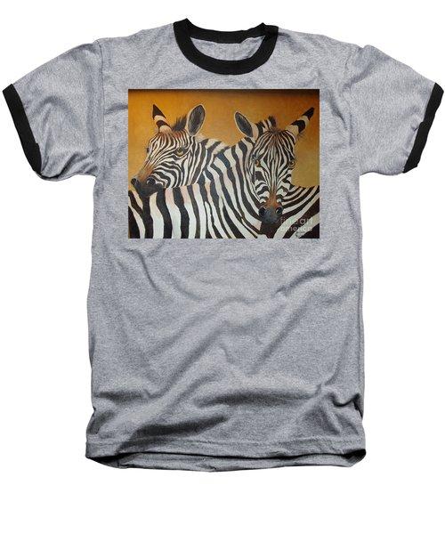 Zebra Love Baseball T-Shirt