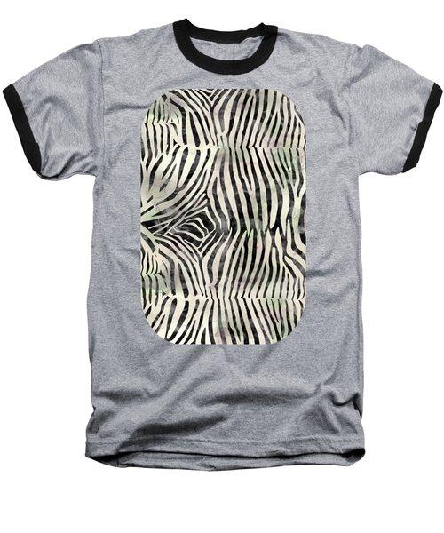 Zebra Print Baseball T-Shirt