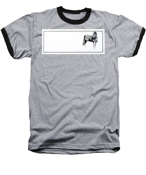 Zebra3 Baseball T-Shirt
