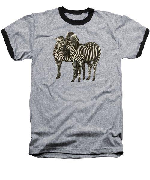 Zebras  Baseball T-Shirt