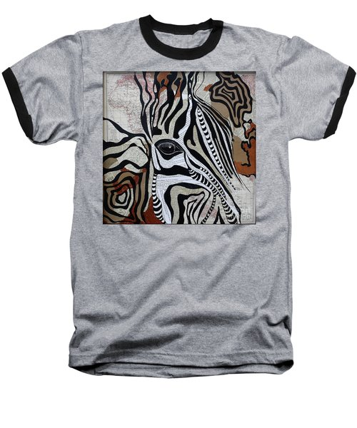 Zebroid Baseball T-Shirt