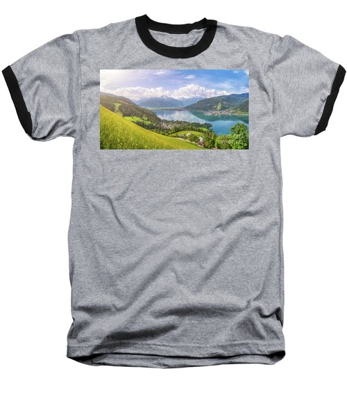 Zell Am See - Alpine Beauty Baseball T-Shirt