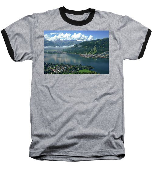 Zell Am See Panorama Baseball T-Shirt