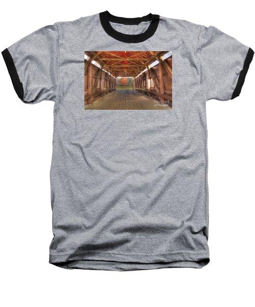 Sycamore Park Covered Bridge Baseball T-Shirt