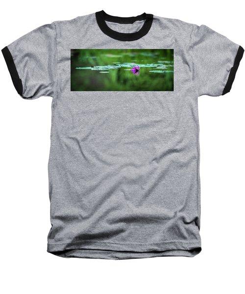 Zen Blossom Baseball T-Shirt