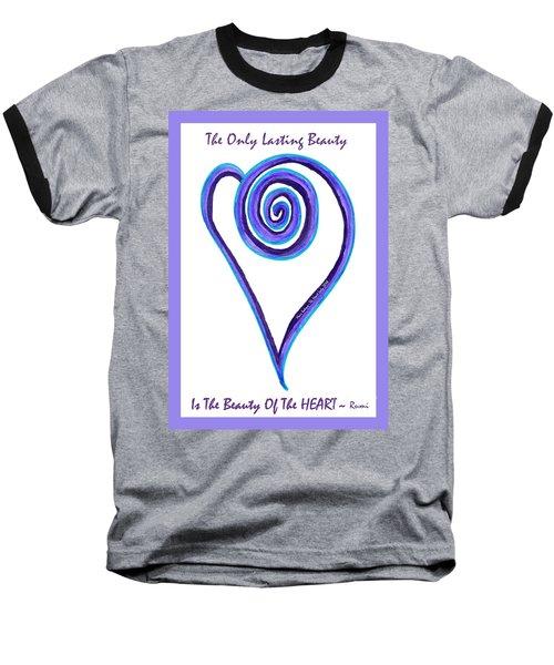 Zen Heart Off Balance Baseball T-Shirt