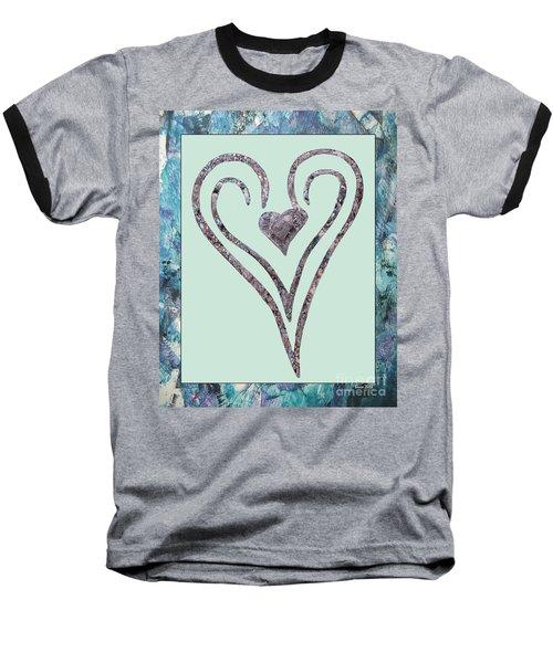 Zen Heart Sedona Labyrinth Baseball T-Shirt