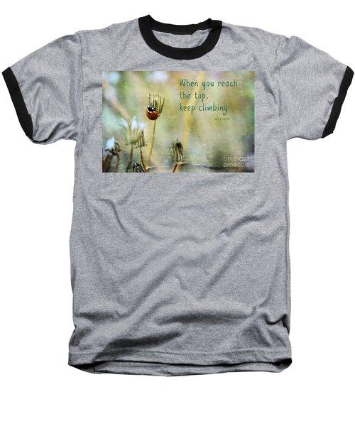 Zen Proverb Baseball T-Shirt