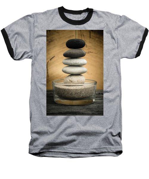 Zen Stones I Baseball T-Shirt