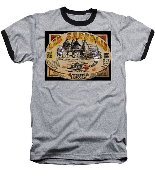 Zeppelin Express Work B Baseball T-Shirt