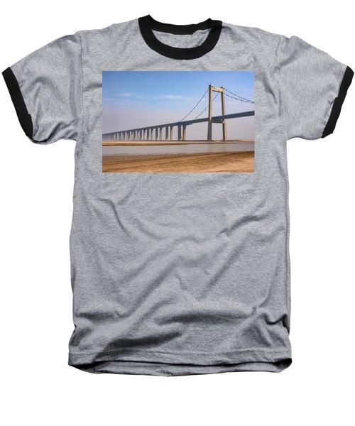 Zhengzhou Taohuayu Huanghe Bridge  Baseball T-Shirt