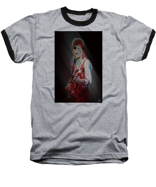 Ziggy Played Guitar Baseball T-Shirt