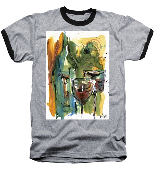 Zin-findel Baseball T-Shirt by Robert Joyner