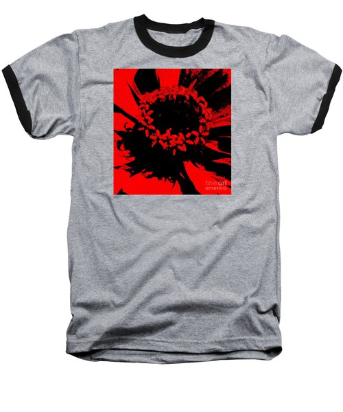 Baseball T-Shirt featuring the photograph Zinnia Crown by Jeanette French