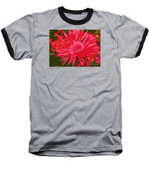 Baseball T-Shirt featuring the photograph Zinnia Party by Jeanette French