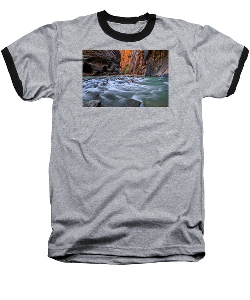 Zion Narrows Baseball T-Shirt