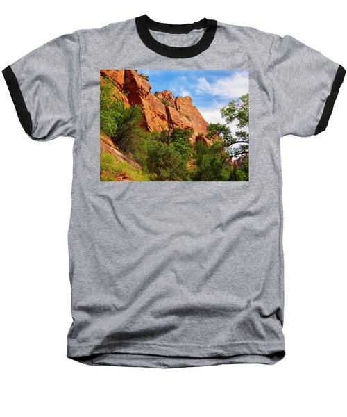 Zion National Park 1 Baseball T-Shirt