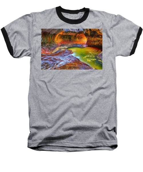 Zion Subway Baseball T-Shirt by Greg Norrell