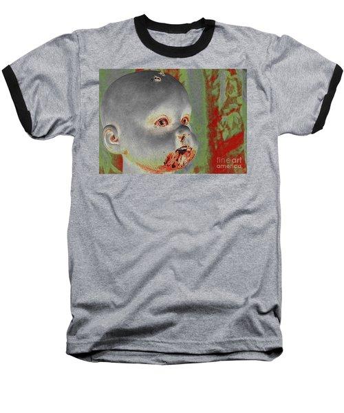 Zombie Baby Baseball T-Shirt