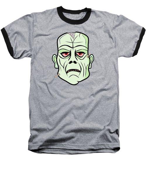 Zombie Head Baseball T-Shirt