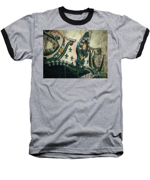 Zoo Carousel Ma Baseball T-Shirt