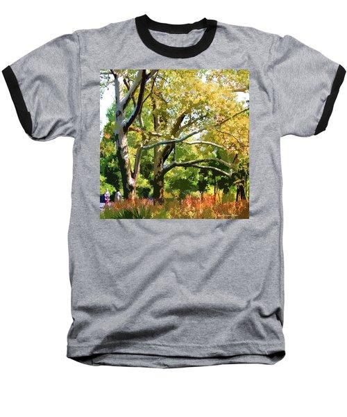 Zoo Trees Baseball T-Shirt