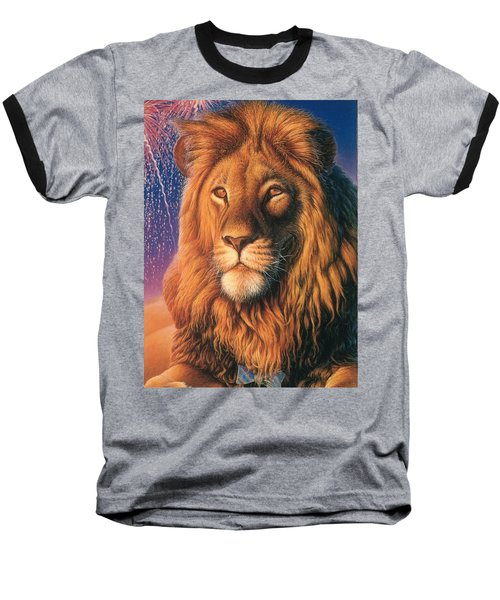 Zoofari Poster The Lion Baseball T-Shirt