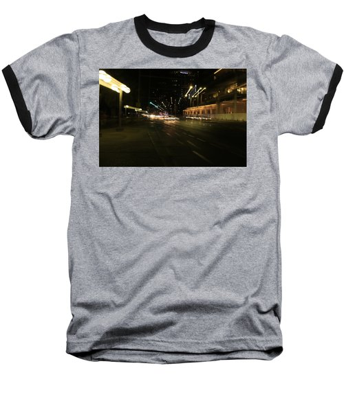 Zooming Tel Aviv Road. Baseball T-Shirt