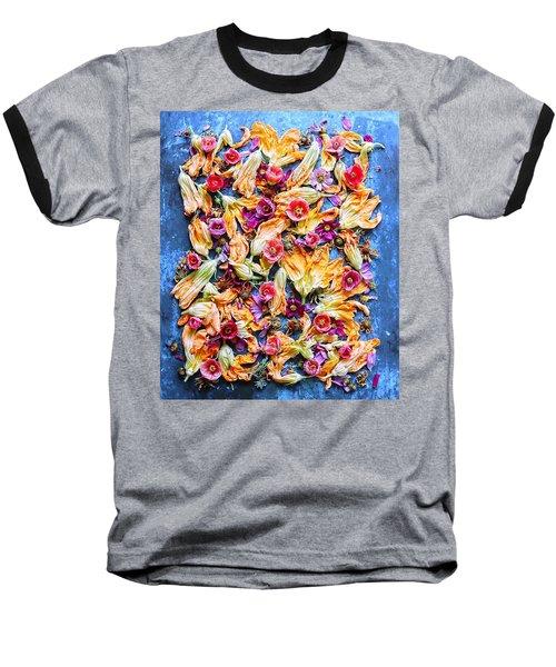 Zucchini Blossoms Season Baseball T-Shirt