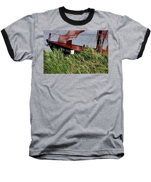 Baseball T-Shirt featuring the photograph Zuiderzee Boat by KG Thienemann