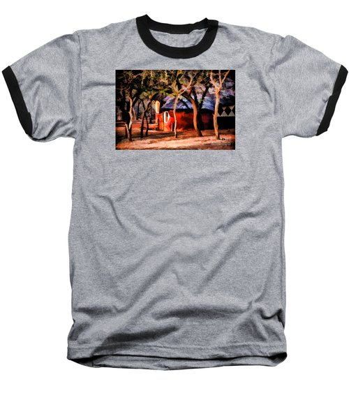 Baseball T-Shirt featuring the photograph Zulu Sunset by Rick Bragan