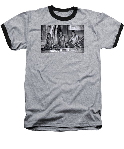 Baseball T-Shirt featuring the photograph Zulu Women by Rick Bragan