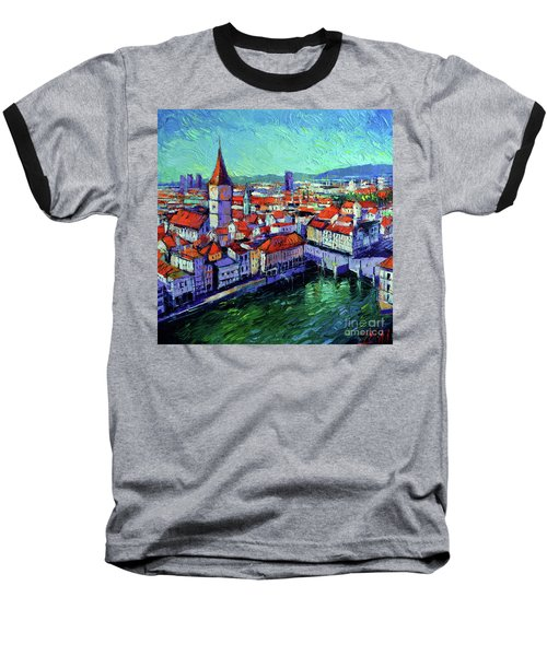 Zurich View Baseball T-Shirt