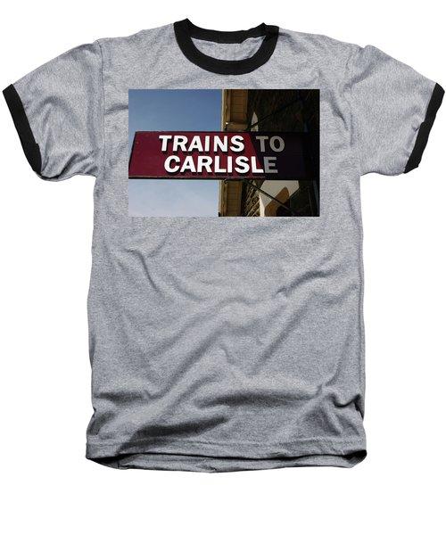 06/06/14 Settle. Station View. Destination Board. Baseball T-Shirt