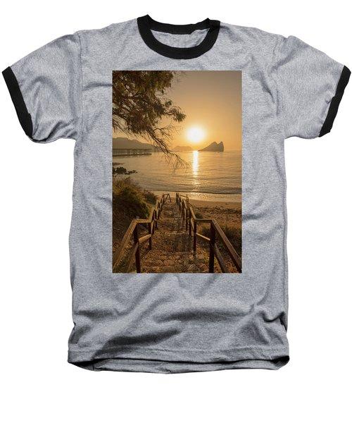 Access To The Beach At Dawn Baseball T-Shirt
