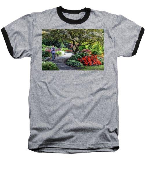 A Walk In The Garden Baseball T-Shirt