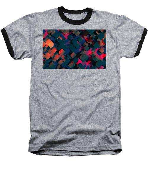 Abstract 3 Baseball T-Shirt