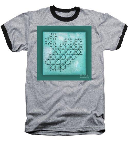 Abstract Biological Illustration Baseball T-Shirt