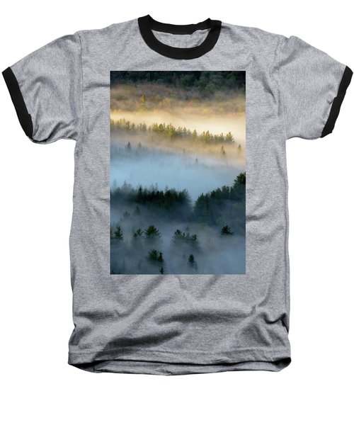 Adirondack Fog Baseball T-Shirt