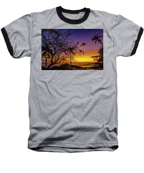 After Sunset Colors Baseball T-Shirt