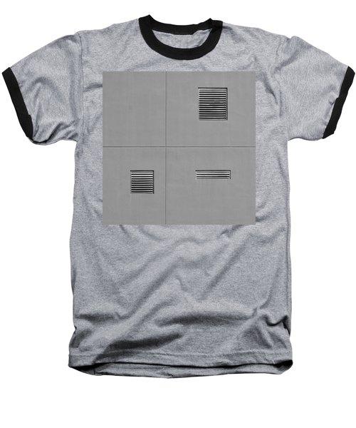 Asymmetry Baseball T-Shirt