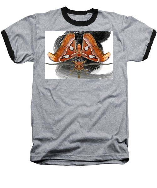 Atlas Moth7 Baseball T-Shirt