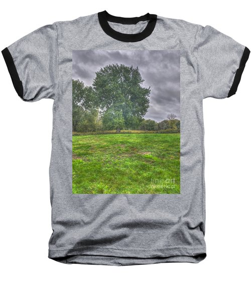 Blacklick Circle Earthwork Baseball T-Shirt