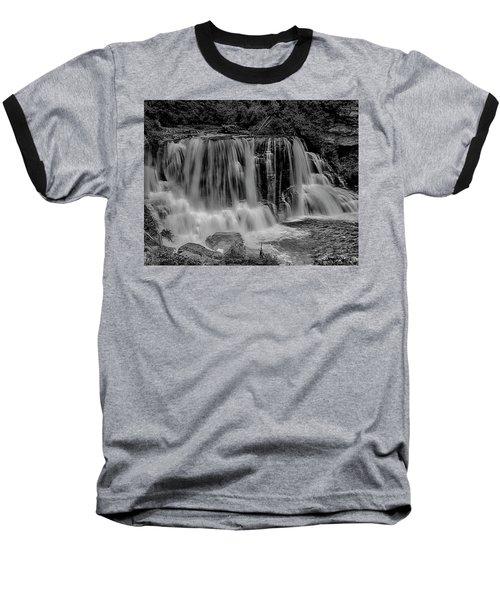 Blackwater Falls Mono 1309 Baseball T-Shirt
