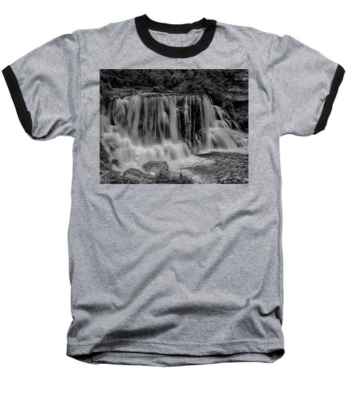 Blackwater Falls Mono 1309 Baseball T-Shirt