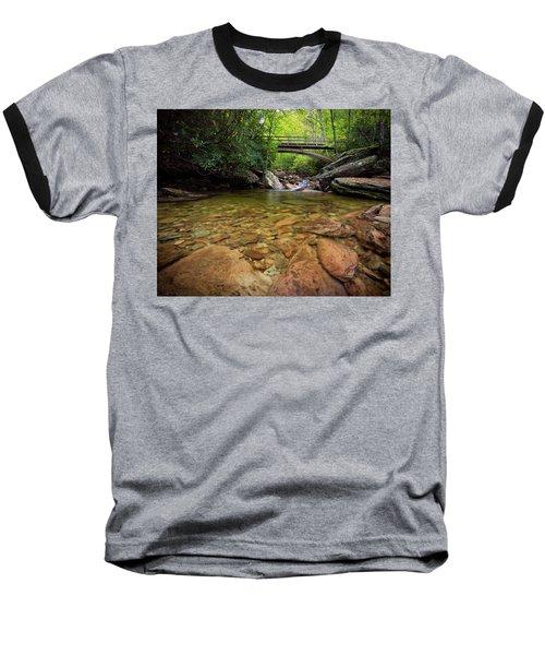 Boone Fork Bridge - Blue Ridge Parkway - North Carolina Baseball T-Shirt